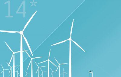 14 windmolens